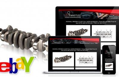 Ebay template dla TransMatic